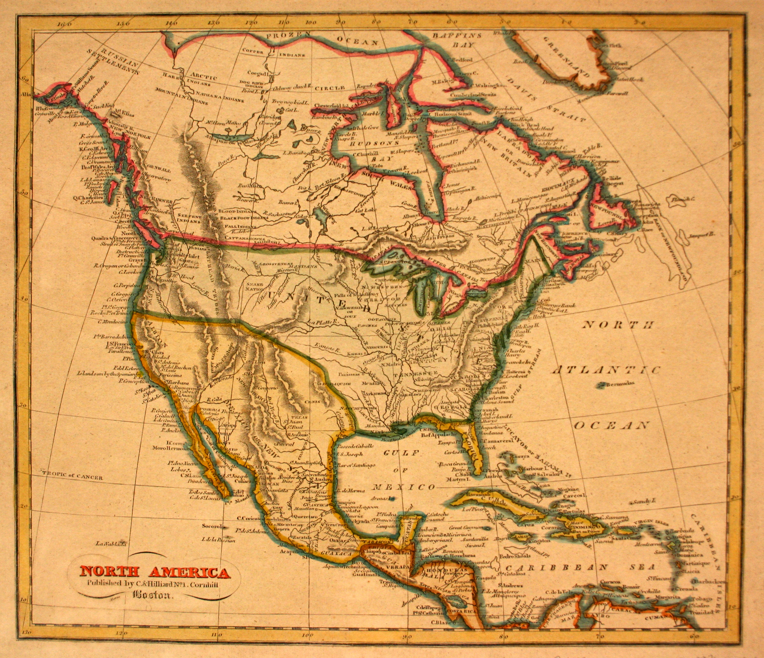 North America Yana Marty Davis Map Collection - Map of north louisiana