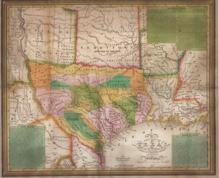 Map Of Texas 1835.Political Themes Yana Marty Davis Map Collection Page 5